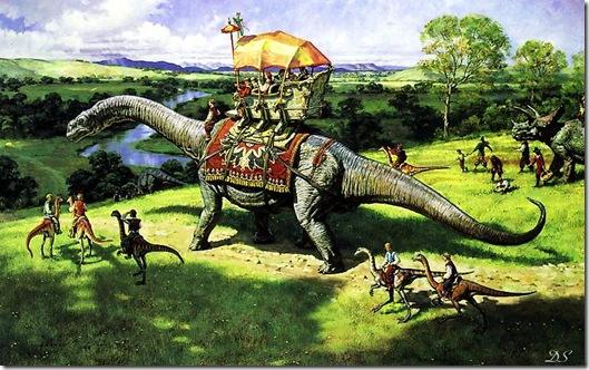 Brontosaurus-Triceratops